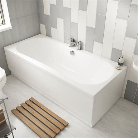 bathroom wickes wickes avaris double ended steel bath 1800x800mm wickes