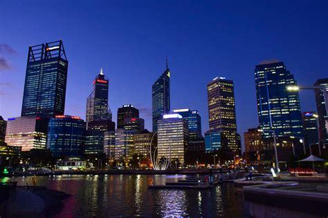 in perth australia free stock photo of skyline of perth at in australia