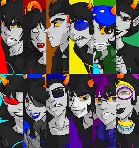 stuck le homestuck trolls by lydianiakalle on deviantart