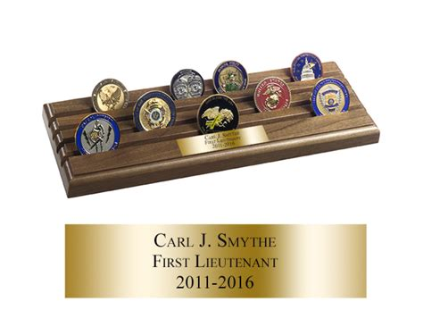 Cer Shell Rack by Challenge Coins Display Holders Shell Casing Coin Rack 4