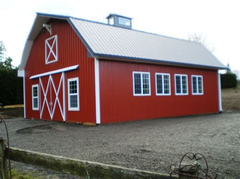 gambrel pole barn nice gambrel style barn with plenty of windows for natural