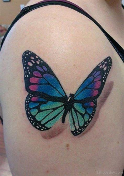 butterfly chest tattoo designs 27 best butterfly shoulder designs images on