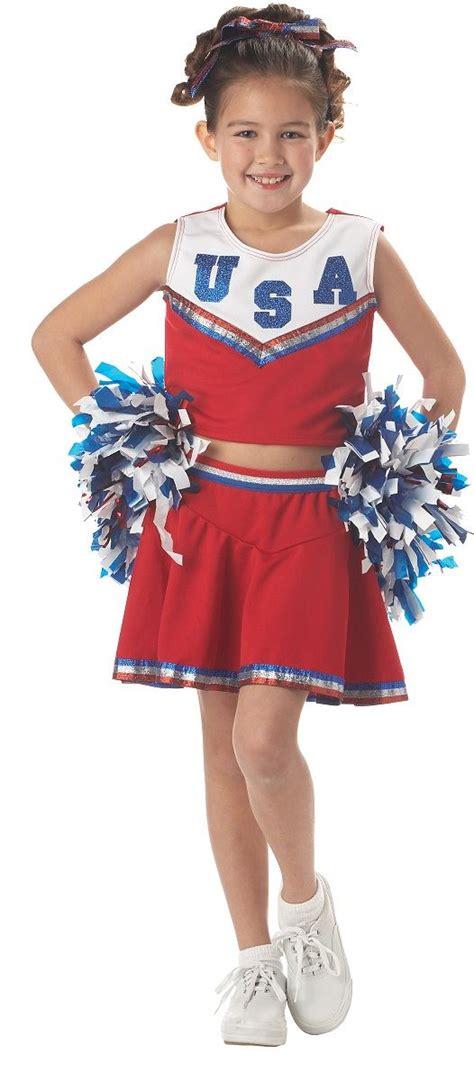 girls fancy dress halloween costumes the costume land kids patriotic cheerleader girls costume 32 99 the