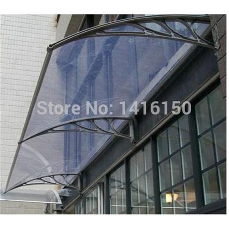 polycarbonate awning brackets ds80200 80x200cm easy to install aluminum bracket