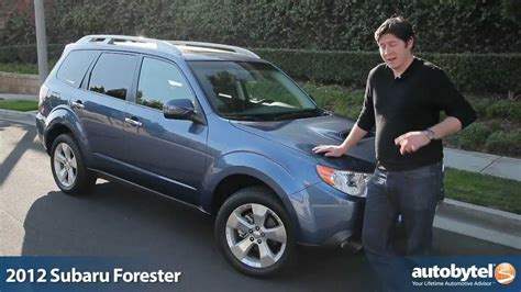 subaru crossover 2012 2012 subaru forester xt test drive crossover suv review