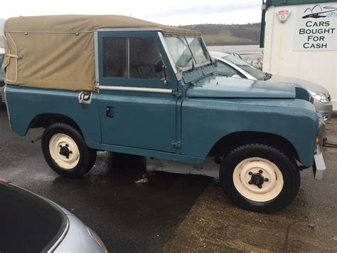 land rover series diesel land rover series 2a 88 quot 1969 diesel tax exempt yeh 890h