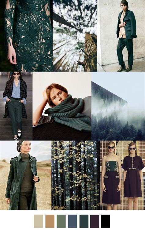 7 Trendy Fashion Colors For Winter by F W 2017 2018 Pattern Colors Trends Evergreen Fall