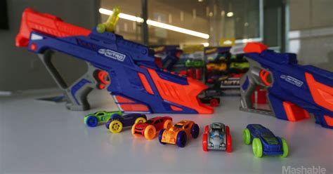 nerf car nerf s newest blasters shoot foam cars not darts