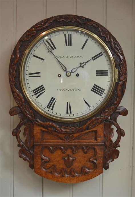 splendid wall clock 67 large wall clocks antique gustav becker pendulum