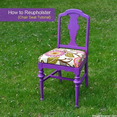 How To Reupholster Kitchen Chairs by Creative Tutorials And Ideas For Chair Makeovers
