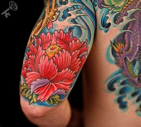 japanese peony black and grey sleeve by darko 25 best ideas about japanese peony on