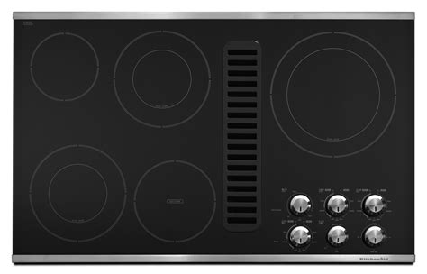 Downdraft Cooktops Electric 36 Inch 36 inch 5 element downdraft cooktop