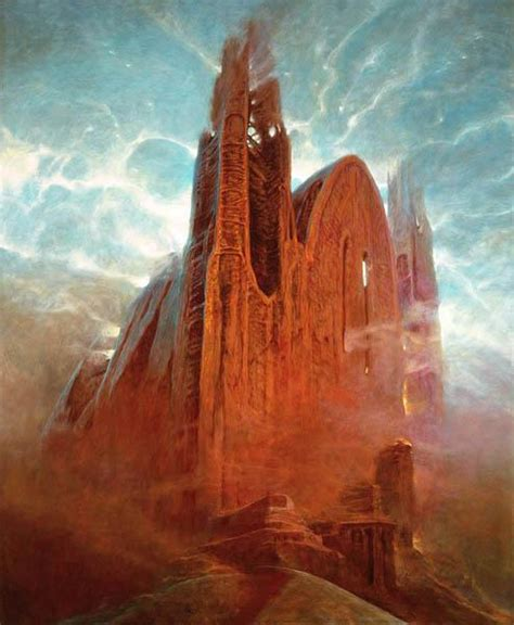 untitled painting untitled zdzislaw beksinski wikiart org