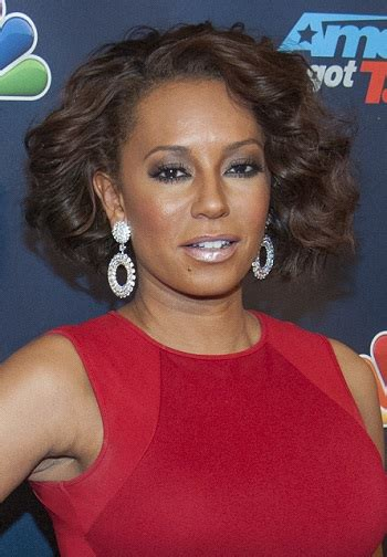 mel b hairstyles allure sophisticated hairstyle gallery