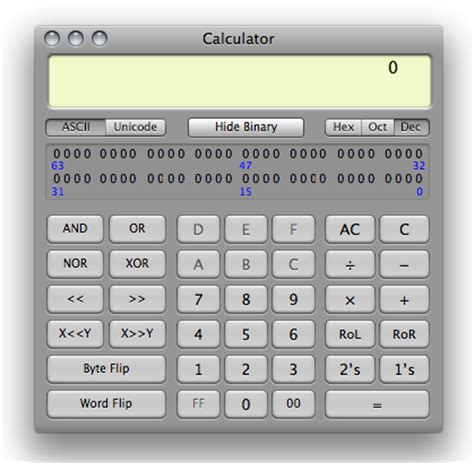 calculator programmer the www blog calculator app in mac os x features and