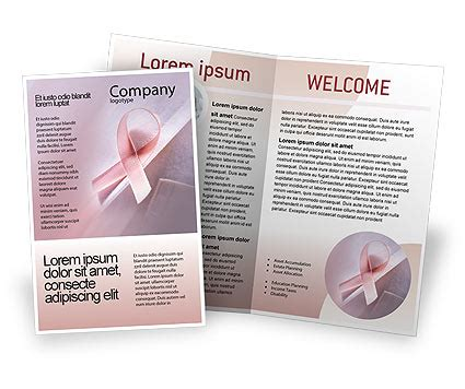 Breast Cancer Awareness Brochure Template Design And Layout Download Now 02302 Breast Cancer Brochure Template Free