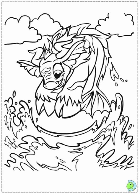 coloring pages of neopets az coloring pages