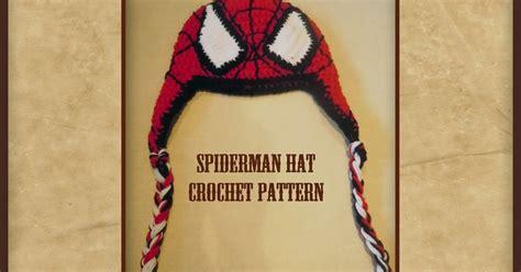 spiderman hair pattern luv boopa spiderman crochet hat pattern