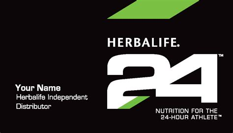 herbalife 24 business card template herbalife nutrition club supplies