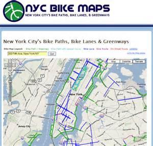 Bike Map Nyc Bike Maps Seth Holladay