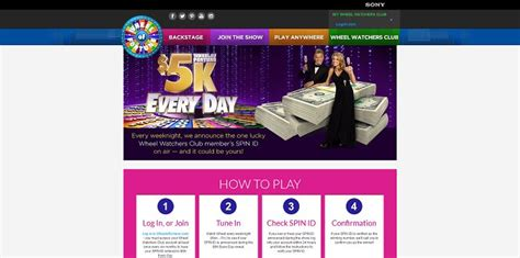 Www Wheeloffortune Com Sweepstakes - wheel of fortune 5k every day sweepstakes upcomingcarshq com