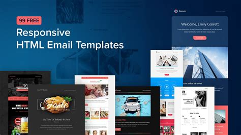 Free Responsive Html Email Templates 99 Free Responsive Html Email Templates To Grab In 2018