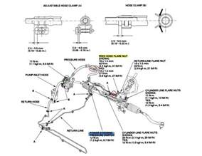 2003 2007 honda accord power steering hose recall car