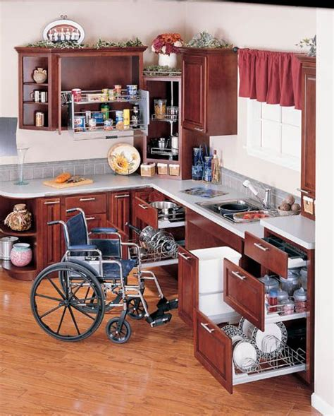 wheelchair accessible kitchen design wheelchair friendly cabinets and kitchens in pennsylvania