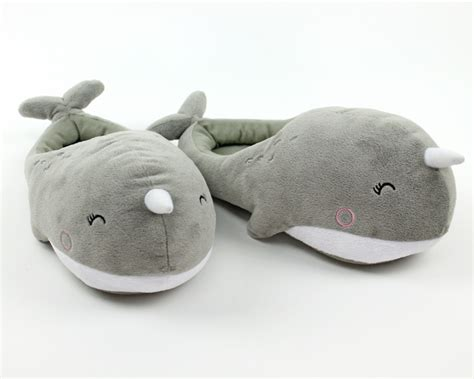 narwhal slippers novelty slippers for children