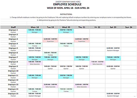 microsoft work schedule template magnificent microsoft employee schedule template ideas