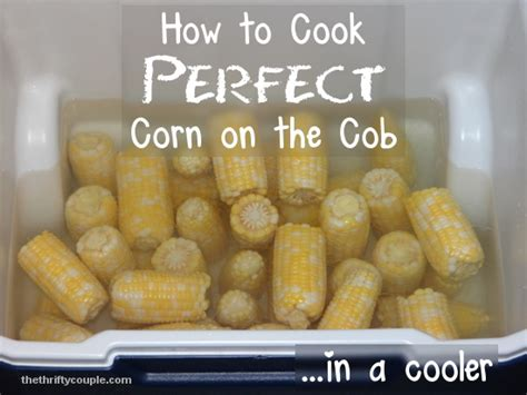 how to cook perfect corn on the cob in a cooler