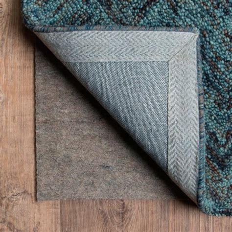luxehold rug pad luxehold reversible indoor rug pad for carpet or surfaces grandin road