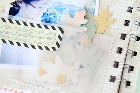 Cp Michiko thanks for the memories fall traditions mini album w