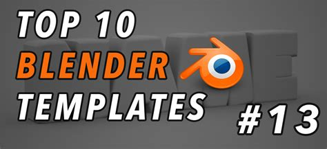 best templates for blender top 10 best blender 3d intro templates 13 free