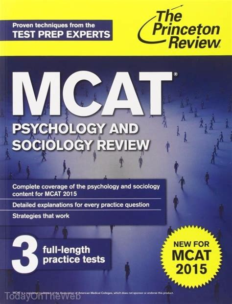 sterling test prep mcat psychology sociology review of psychological social biological foundations of behavior books mcat psychology and sociology review new for mcat 2015