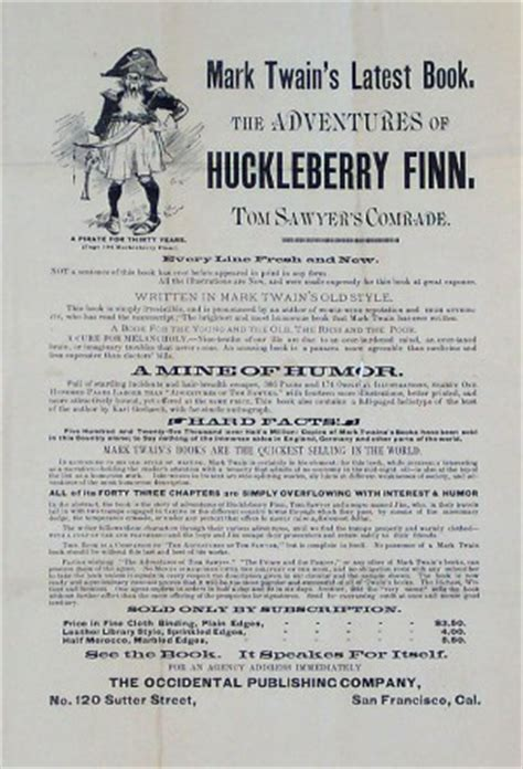 River Symbolism In Huckleberry Finn Quotes