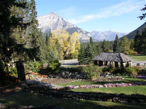 panoramio photo of cascade gardens banff