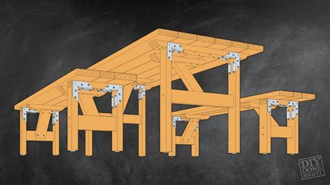 picnic table   benches diy