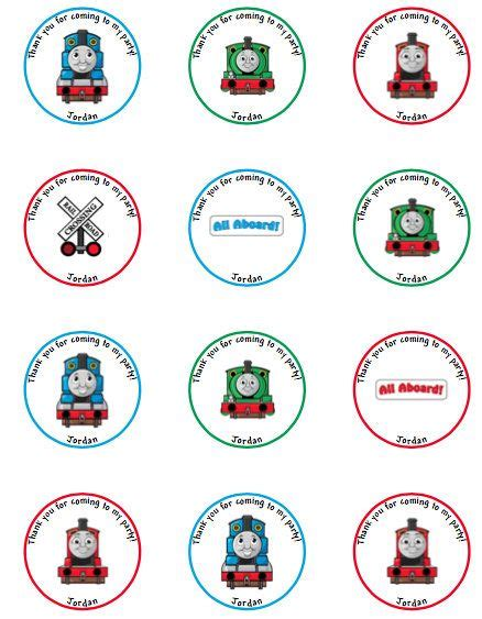 printable thomas stickers 52 best cupcake toppers tags stickers tiles images on