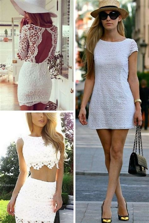 white dress  summer simple street