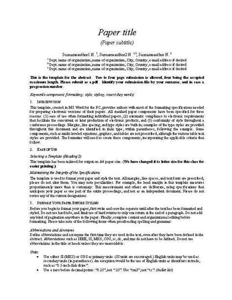 format of proposal report best photos of exles of report project templates