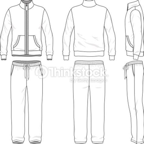 Gym Suit Vector Art Thinkstock Sweatpants Template Vector
