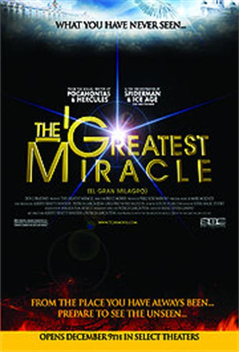 The Greatest Miracle Free Free Gt The Greatest Miracle 2011 The