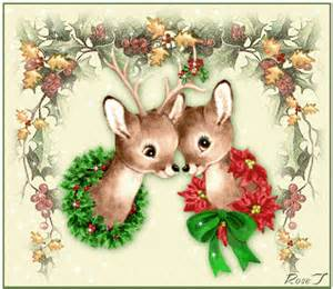 baby reindeer s animated christmas photo 9058647 fanpop