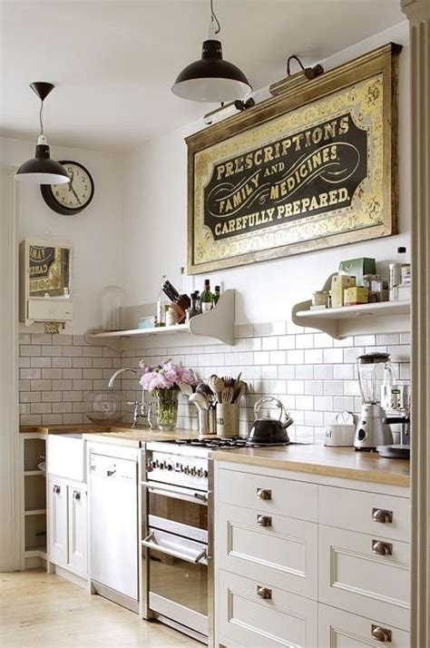28 Ideas para decorar una cocina al estilo Vintage   Verte