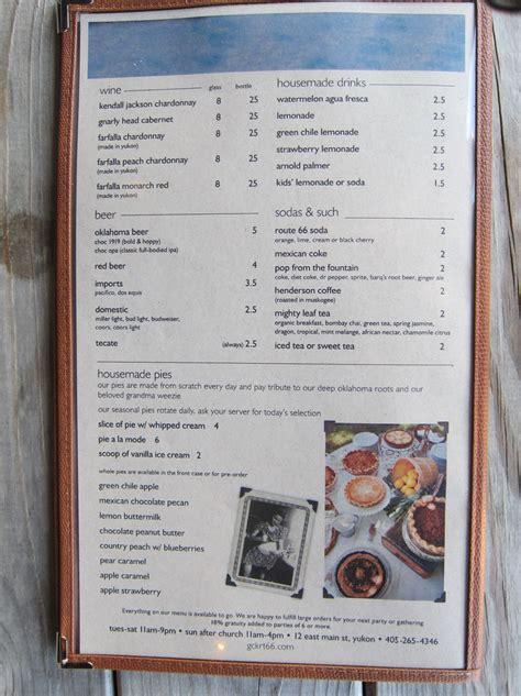 green chile kitchen menu yukon ok