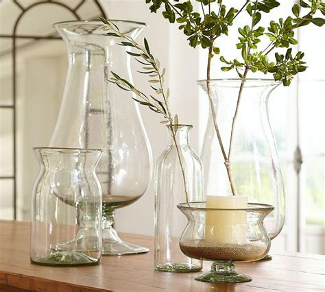 Decorating With Large Glass Vases by Recycled Clear Glass Vases Pottery Barn Au