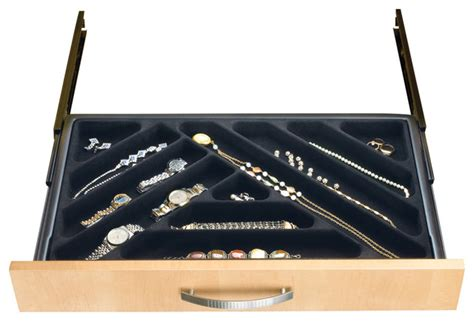 Velvet Jewelry Dividers For Drawers by Black Velvet Jewelry Drawer Organizer Jewelry Ideas