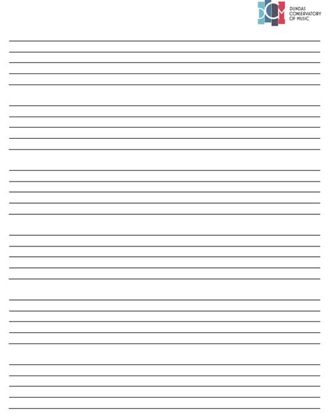 free printable staff paper pdf free downloads dundas conservatory of music