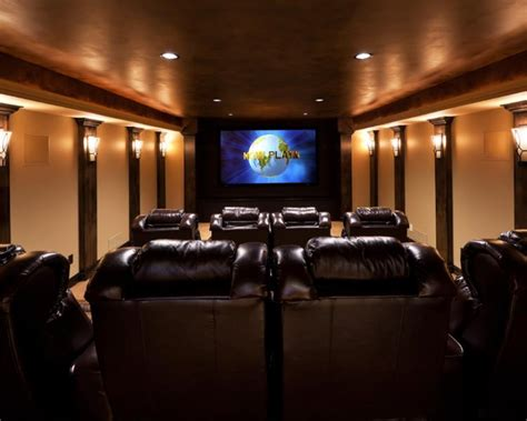 Theater Ceiling Design by Technology For The Home